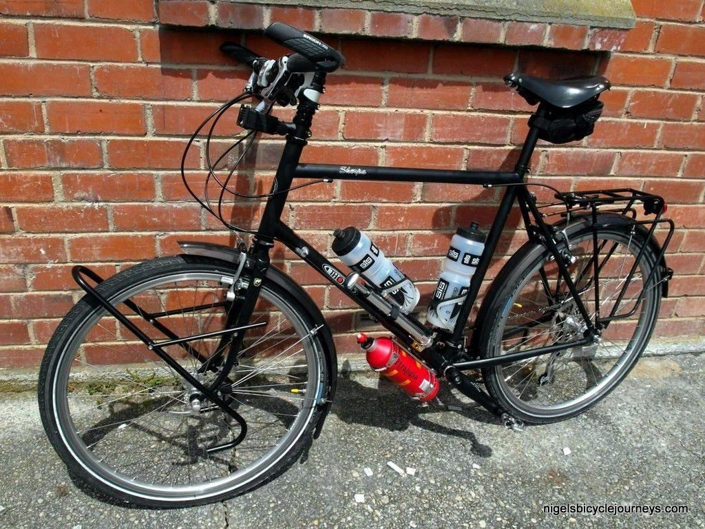 Thorn Sherpa Final Build Nigels Bicycle Journeys